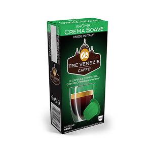 100pz Crema soave compatibile nespresso gusto intenso