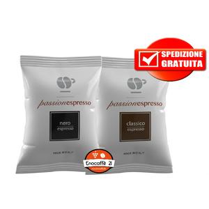 200pz lollo nero + 200pz lollo classico Nespresso