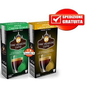 200pz leon d'oro + 200pz crema soave Nespresso
