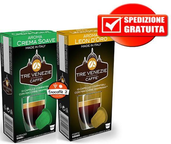 400pz Leon d'oro + 400pz crema soave Nespresso