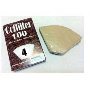 Filtri carta caffè ecologici per caffettiera americana 4tz
