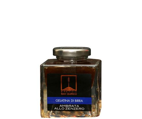 Acquista la Gelatina di Birra Ambrata allo Zenzero