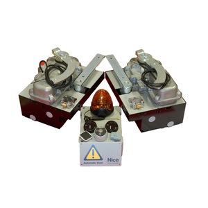 Kit BM4000 220 V con casse in accaio inox