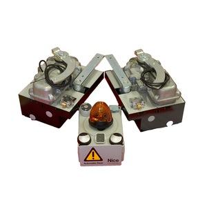 Kit BM5024 24 V Con casse in acciaio inox