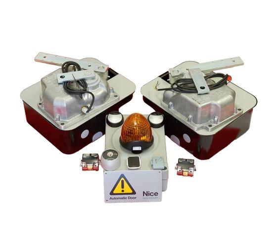 Kit ME3024 24 V con casse in acciaio inox
