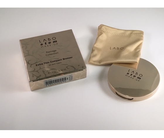 terra Compatta  Labo Stem Ramage Collection Extra Thin Compact Bronzer