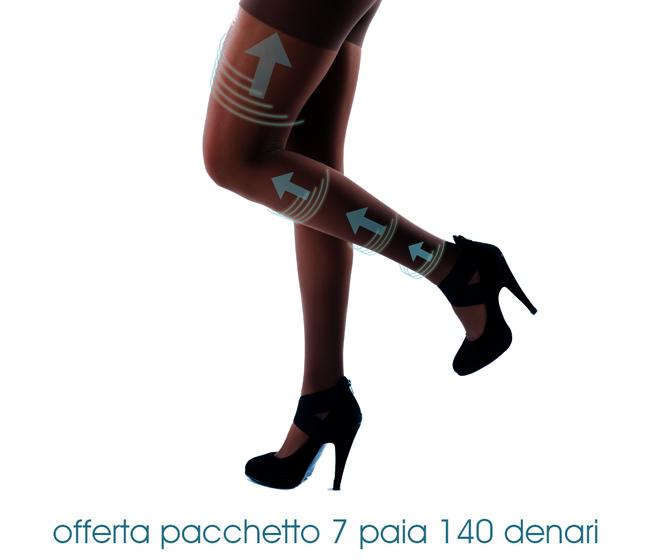 Collant Classic 140 DENARI - PACCHETTO 7 PAIA