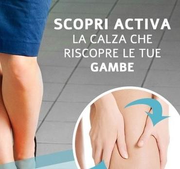 Calze elastiche contenitive
