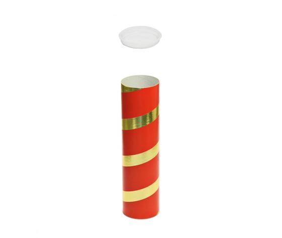 Tubi per spedizioni postali con tappi in plastica