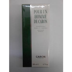 Caron Pour un Homme shampoo corpo e capelli  200 ml