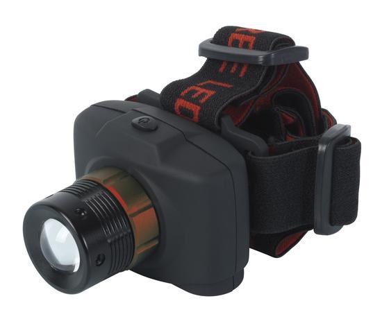 Lampada Frontale 3W con Zoom - Ribitech