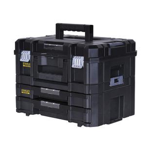 Kit Cassetta Portautensili Elettrici + Cassettiera 2 Cassetti TSTAK FATMAX FMST1-71981 - Stanley