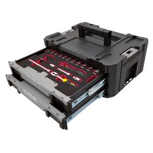Kit Cassettiera TSTAK FATMAX con 2 Set Chiavi a Bussola FMHT6-97993 - Stanley