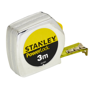 Flessometro POWERLOCK in Metallo 3M (19mm) - Stanley