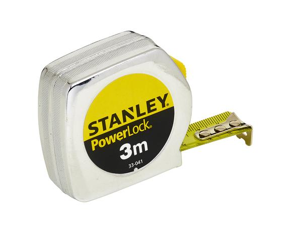 Flessometro POWERLOCK in Metallo 3M (19mm) - Stanley