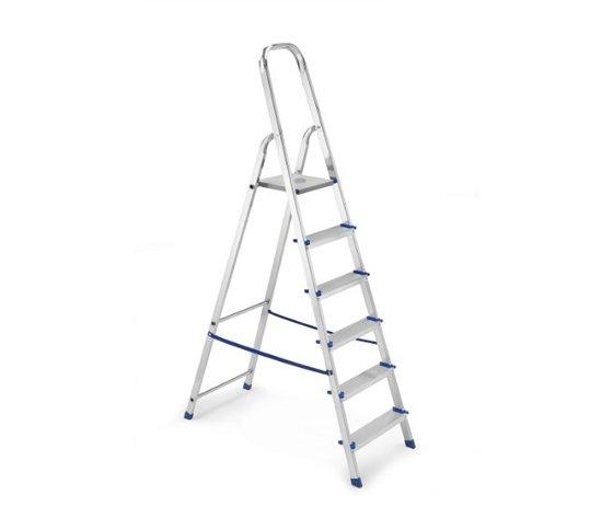 Scala Domestica in Alluminio 6 Gradini - Framar