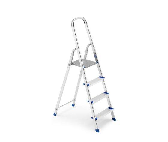 Scala Domestica in Alluminio 4 Gradini - Framar