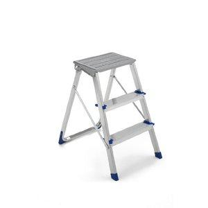 Sgabello Domestico in Alluminio 3 Gradini - Framar