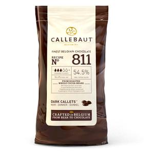 cioccolato fondente CALLEBAUT  dischetti  1kg
