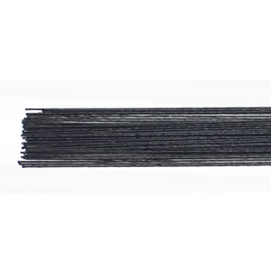 floral wire NERO set 50 -24 gauge