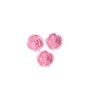 roselline di zucchero ROSA cf 24 pz