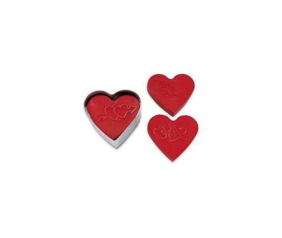 Tagliabiscotti  cuore set