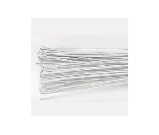 floral wire bianco 18 gauge pz/20