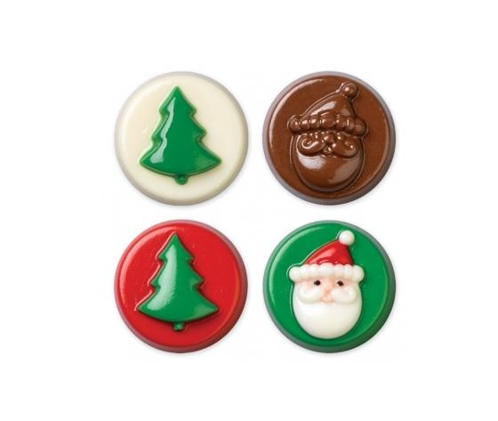 stampo cioccolato /candy  ALBERO E BABBO NATALE