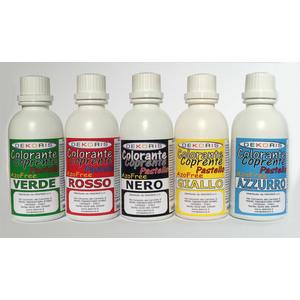 colore AEROGRAFO base alcool ROSSO gr 75
