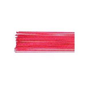 fili fiori rosa  24 gauge  set/50