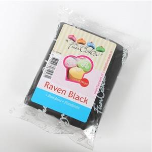 pasta di zucchero nero funcakes