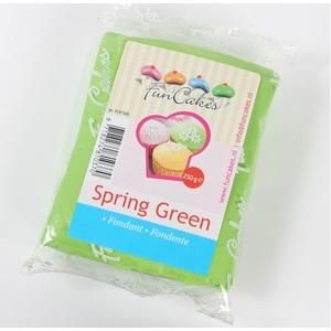 pasta di zucchero verde funcakes