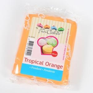 pasta di zucchero arancio funcakes