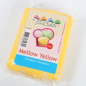 pasta di zucchero giallo funcakes