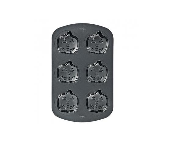 teglia antiaderente mini zucche    cm 9,5 x h 3   wilton