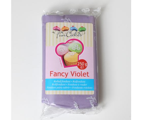 pasta di zucchero FRANCY VIOLET  250 gr   funcakes
