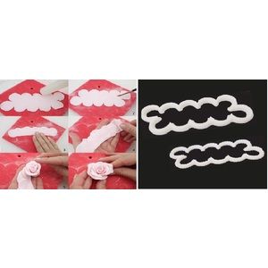 cutter per ROSE  set 2 pz