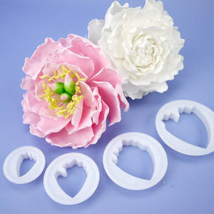 cutter peonia set 4 pz