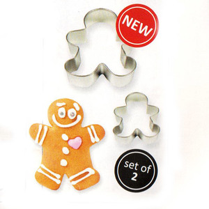 cutter gingerbread man  set 2