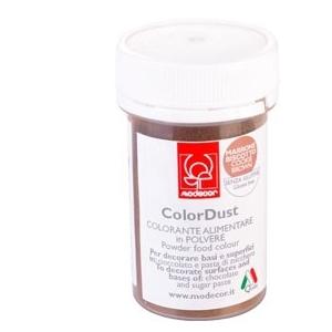 Colore MARRONE polvere senza glutine