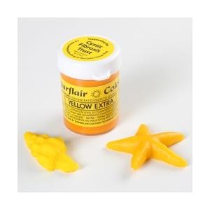 Colore in pasta giallo concentrato