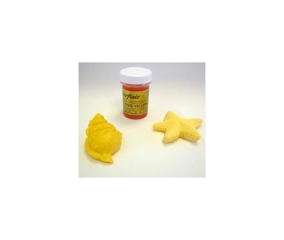 Colore in pasta giallo uovo Sugarflair