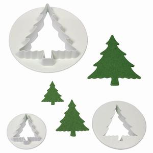 cutter Albero di Natale  set 3 pz