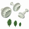 Hl544 pme holly leaf plunger cutter set