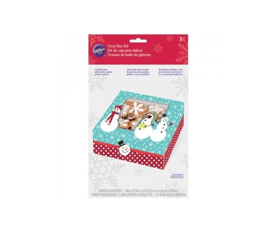 scatola portadolci Natale CF 3