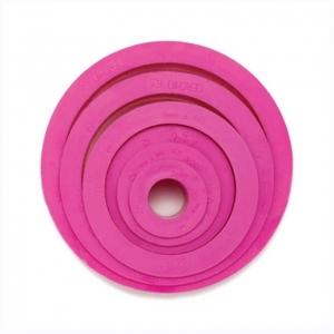 tagliapasta rotondo rosa set 6