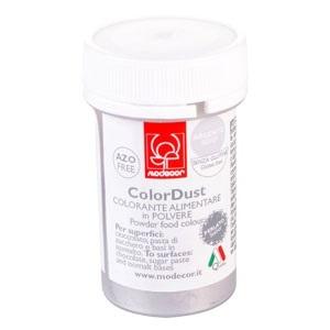colore polvere ARGENTO senza glutine