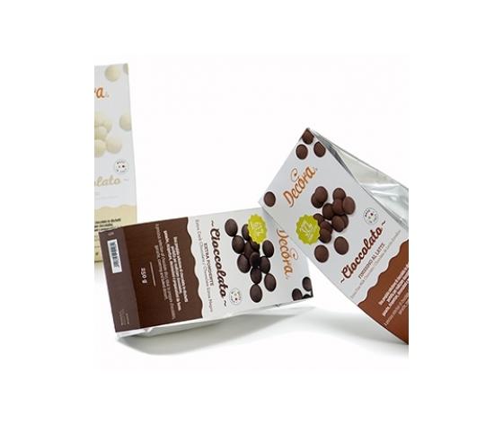 cioccolato FONDENTE dischetti gr 250
