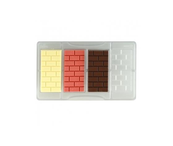 Stampo cioccolatino TAVOLETTA MATTONI