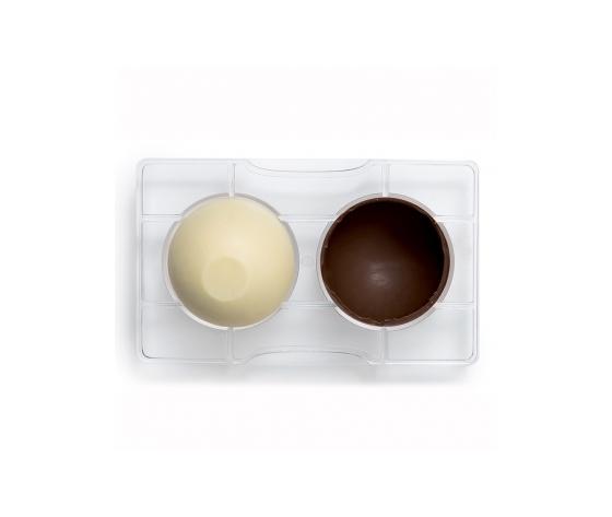 Stampo cioccolatino MEZZA SFERA  diam 25 mm